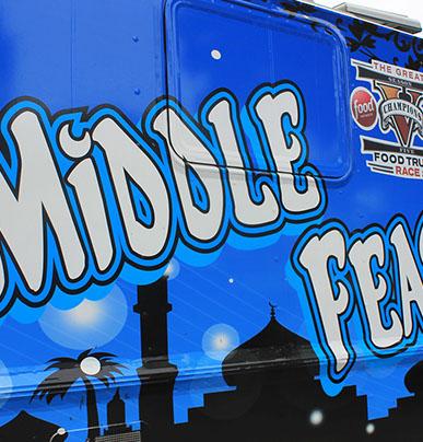 Middle Feast Food Truck Instagram